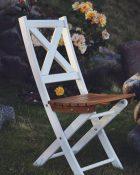 Slaokāms_dārza_krēsls_Picnic_Balts_Bruns_1
