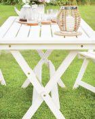 Salokāms galds HEINI 4 Balts_2