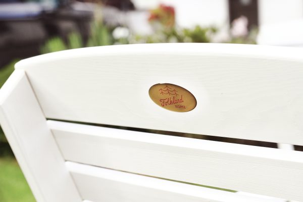 Koka krēsls salokāms