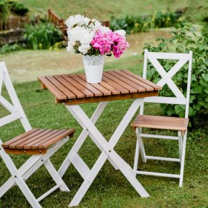 Salokāms koka galds PICNIC