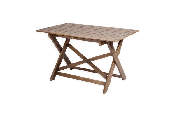 Salokāms koka galds SCANDIA